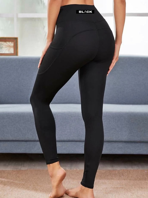 Basic Active Leggings with Pockets