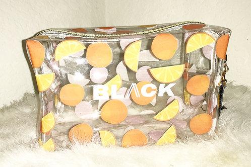 Orange Slice Travel Makeup Bag