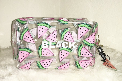 Watermelon Slice Travel Makeup Bag