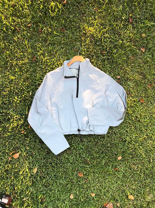 Half Crop Reflective Jacket