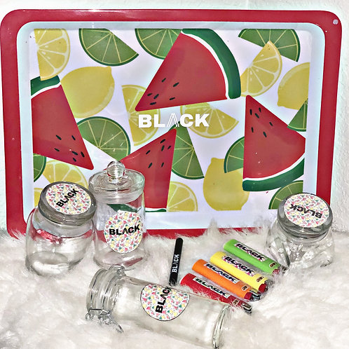 Summer Print Rolling Tray
