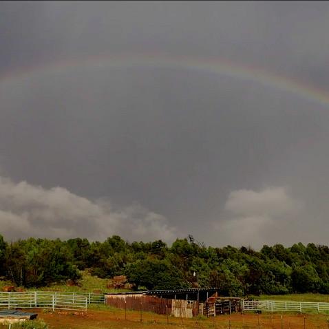Rainbow after Summer Monsoon