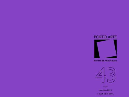 Artigo na revista Porto Arte (UFRGS)