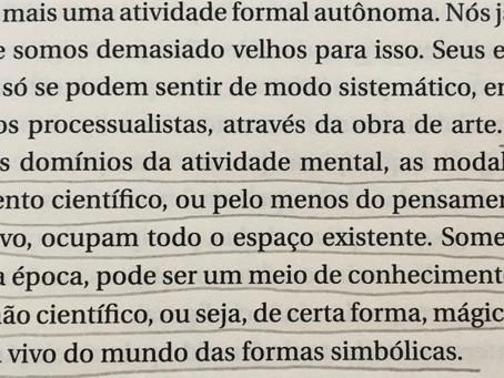 Mário Pedrosa e arte como conhecimento mágico