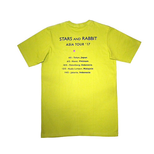 Stars and Rabbit - Asia Tour 2017 T-shirt