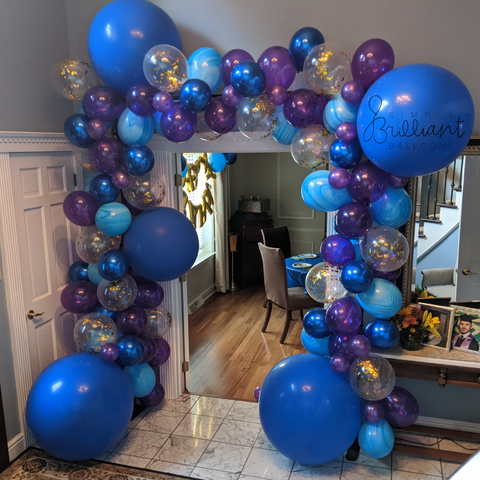 Blue & Purple Arch