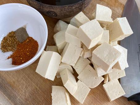 איך להכין קוביות טופו טעימות בעשר דקות ?