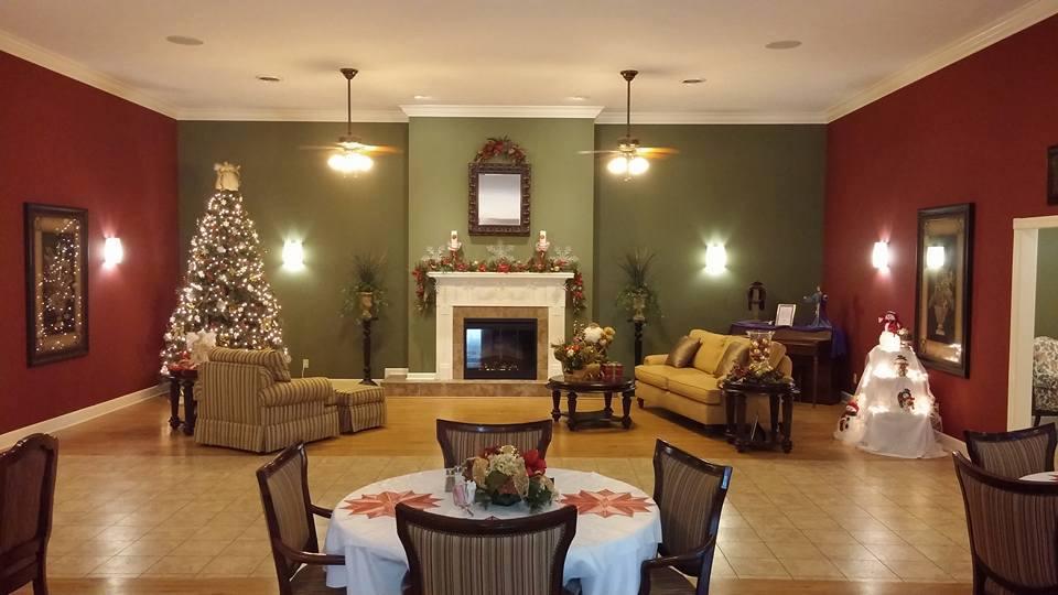 Christmas Decoration at Rose Ella