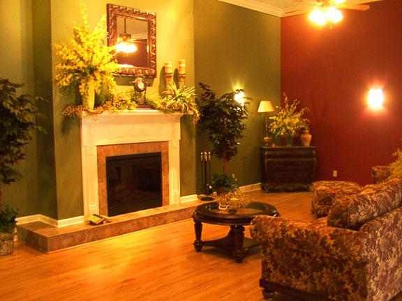 Main Lobby Fireplace