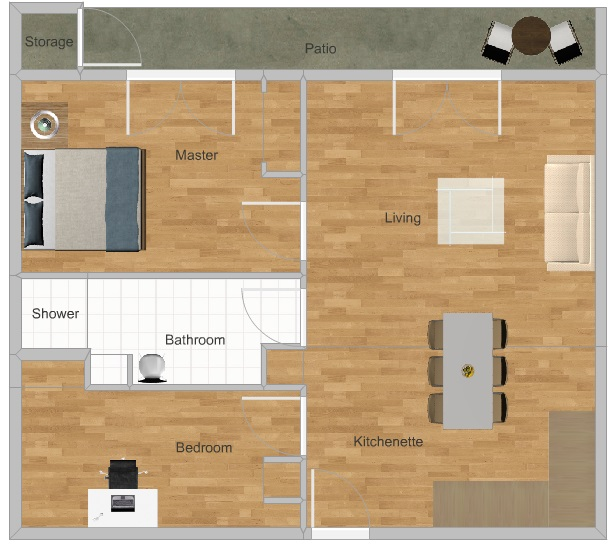 Rose Ella Floor Plan