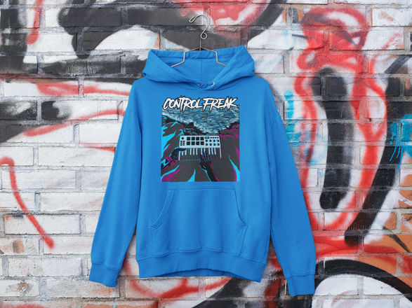 mockup-of-a-hoodie-hanging-on-a-graffiti