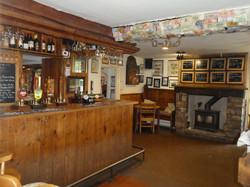 Bar area Butterleigh Pub