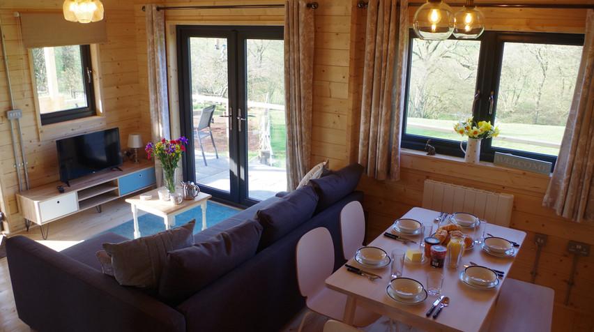Open plan Lounge diner