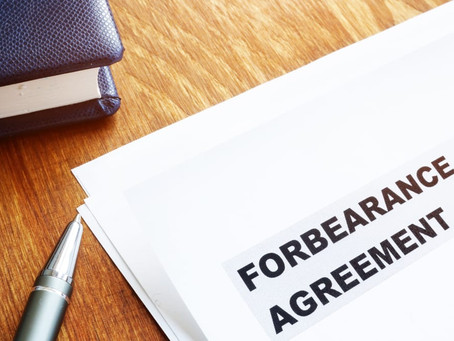 What's the impact of the end of forbearance?