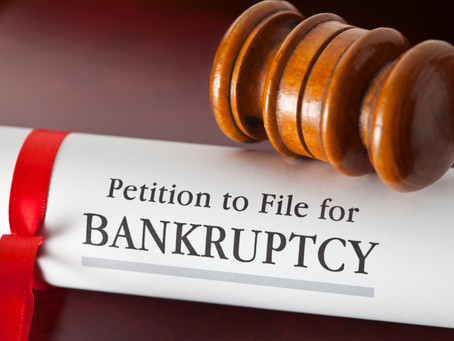 Business and Personal Bankruptcy Filings in the U.S. Rose in July