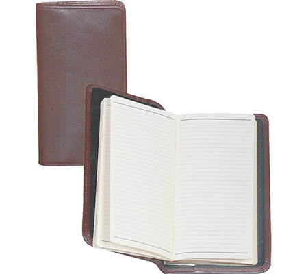 Scully Soft Plonge Leather Ruled Pocket Notebook