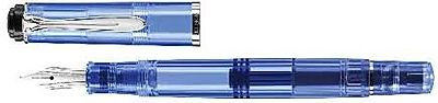 Pelikan M205 Blue Demonstrator Fountain Pen