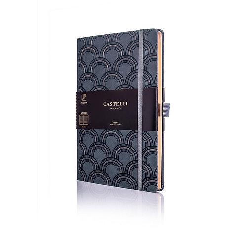 Castelli Copper A5 Medium Ruled Notebook