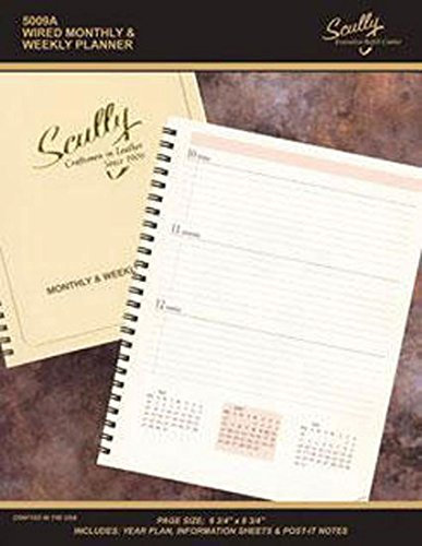 Scully 5009A 2021 Wired Monthly & Weekly Planner