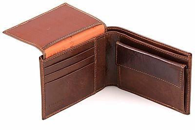 Chiarugi Executive Bi-Fold Wallet w/Coin Pouch