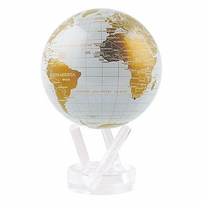 """MOVA 4.5"""" White & Gold Globe"""
