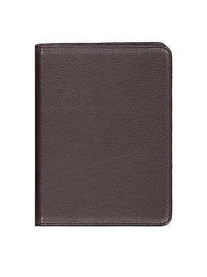 Scully Soft Plonge Leather Ruled Journal