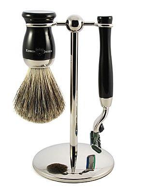 Edwin Jagger 3-Piece Mach 3 Shaving Set