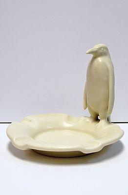 Rookwood Penguin Ash Tray, 1942