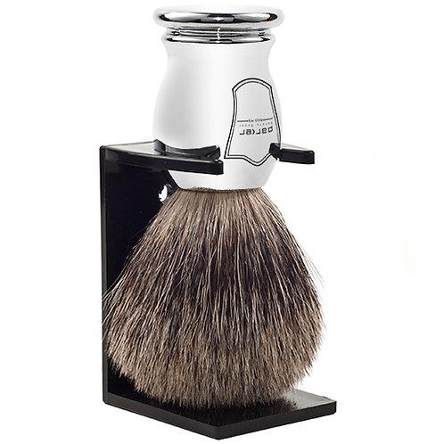 Parker Chrome Badger Shaving Brush