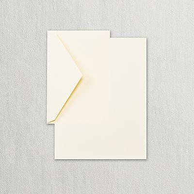 Crane Eccruwhite Half Sheets Stationery