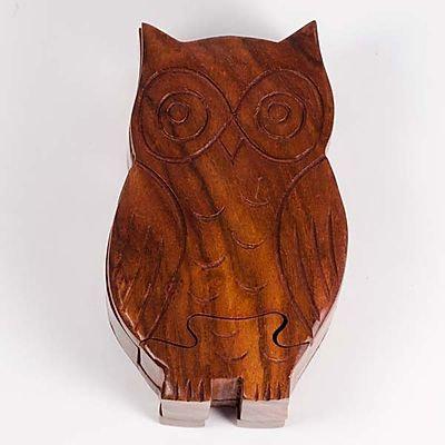 Owl Puzzle Box