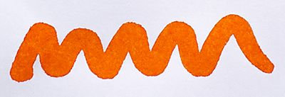 Diamine Blaze Orange Ink