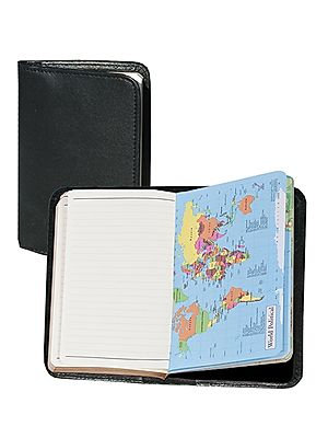 Scully Soft Plonge Leather Ruled Personal Notebook