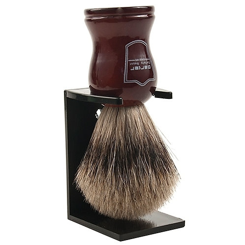 Parker Rosewood Handle Pure Badger Brush