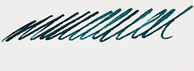3 Oysters Special Edition Marine Green ink