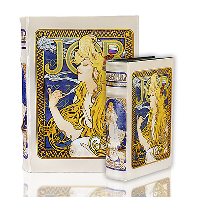 Alphonse Mucha Book Box (2 Sizes)