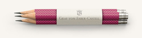 Graf von Faber-Castell 3 Guilloche Pattern Pocket Pencils