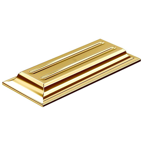 El Casco 23K Gold Plated Pen Holder
