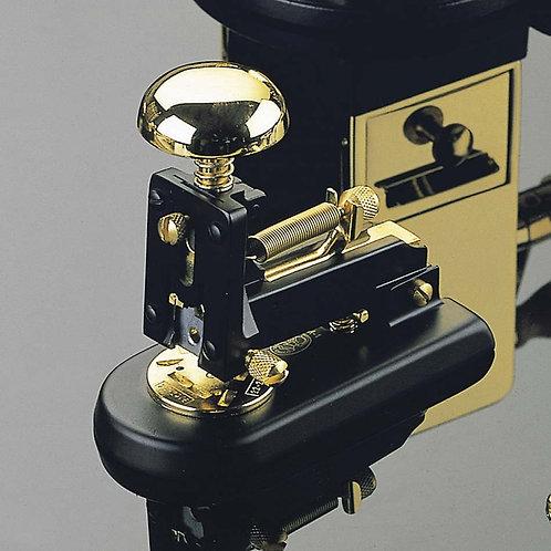 El Casco Black & 23K Gold M-1 Desk Stapler