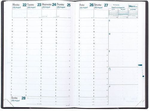 Quo Vadis Minister 2020 Planner Refill