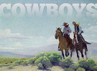 Cowboys: Boxed Notecards