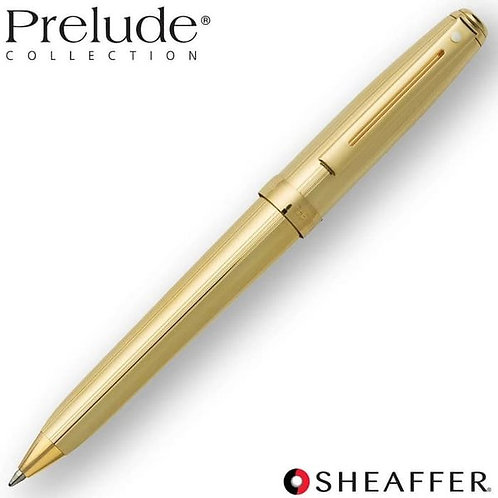Sheaffer Prelude 22K Gold Plate Ballpoint Pen