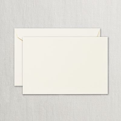 Crane Ecruwhite Correspondence Cards w/ Envelopes