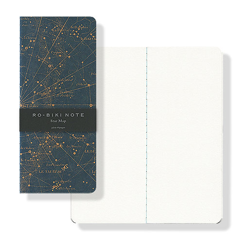 Yamamoto Ro-biki Notebook - Star Map (Blank Pages)
