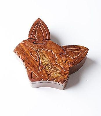 Fox Puzzle Box