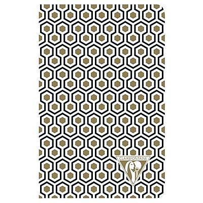 Clairefontaine Neo Deco Notebook - Gold & Black