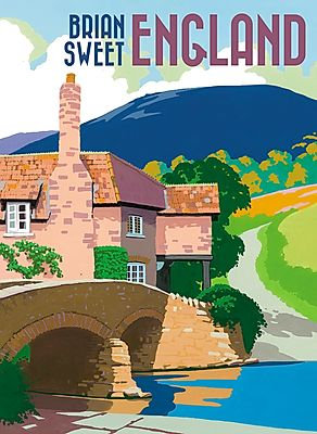 Brian Sweet: England Boxed Note Cards