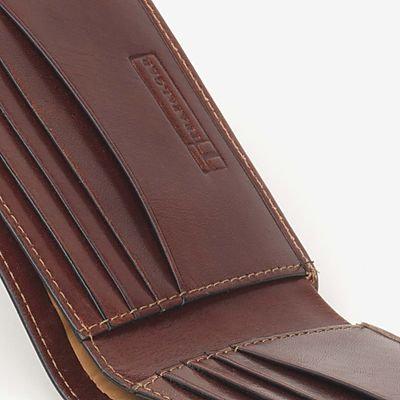 Trafalgar Cortina Leather Slimfold Wallet - Honey