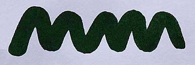Diamine Green/Black Ink