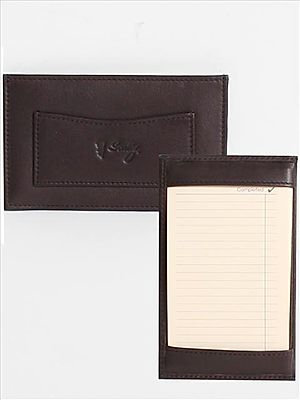 Scully Soft Plonge Leather Jotter
